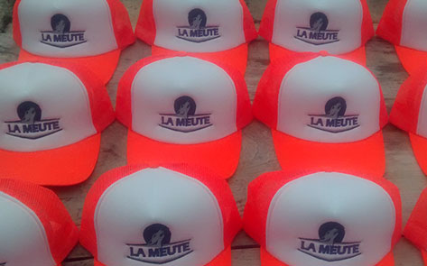 Casquettes truckers filet La Meute