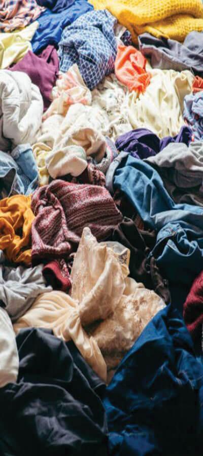Upcycling déchet vêtement usagé