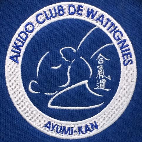 Logo brodé club de sport