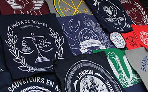 Prototypes de logos brodés