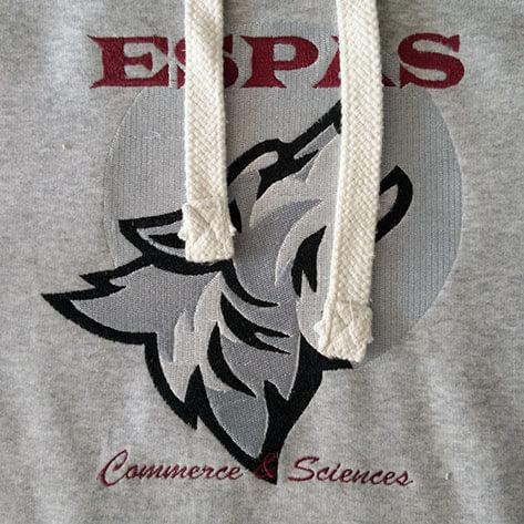 Sweat personnalisé ESPAS Lille