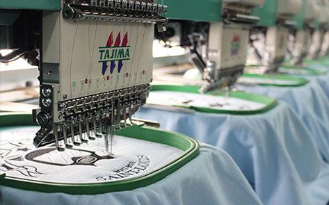 Machine à broder industrielle Tajima