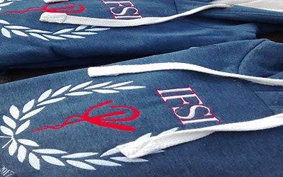 Sweat personnalisé logo IFSI Soins infirmiers