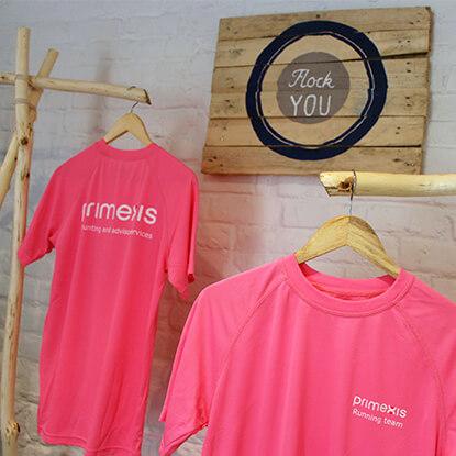 Tee shirt personnalisé PRIMEXIS