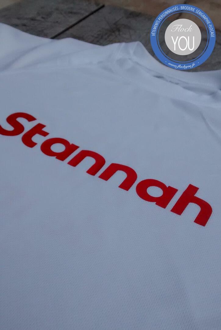 Tee shirts personnalisés Stannah