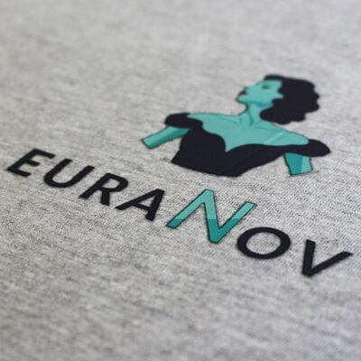 flocage logo teeshirt