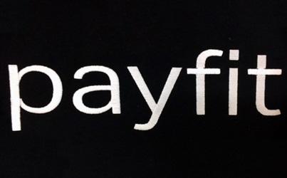 Logo startup Payfit brodé