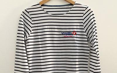 3cc24c228f3 Tee-shirt personnalisé modèle Brest - Brodé ou imprimé