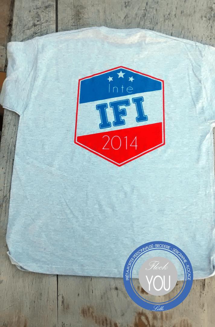 T-shirt floqué IFI